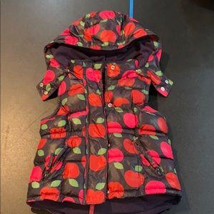 Gap apple puffer vest toddler 4